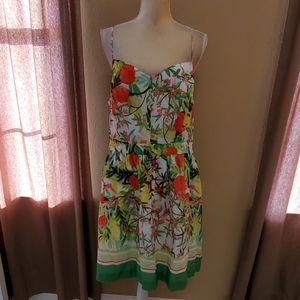 Crown & Ivy floral dress size 16